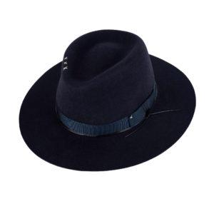Pălărie unisex fedora din par de iepure- B25